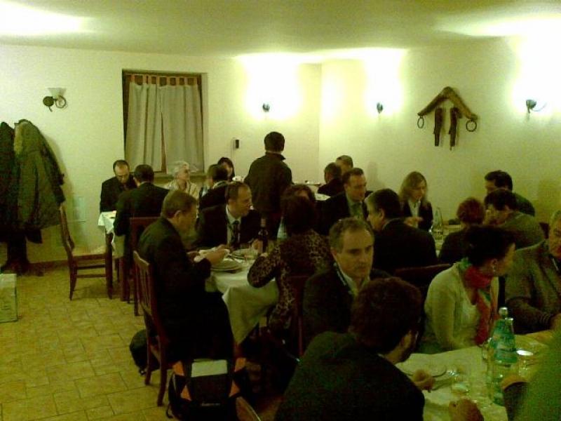 CDO Agroalimentare al Matching 2010, martedì 23, cena buyers e imprenditori del vino