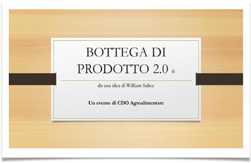 BOTTEGA DI PRODOTTO 2019 - APERTE LE CANDIDATURE